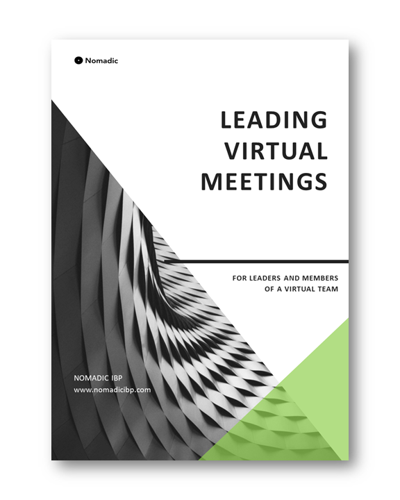 Leading Virtual Meetings | Nomadic IBP
