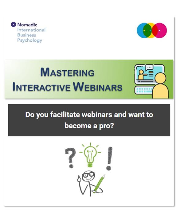 Newsletter Mastering Interactive Webinars | NomadicIBP