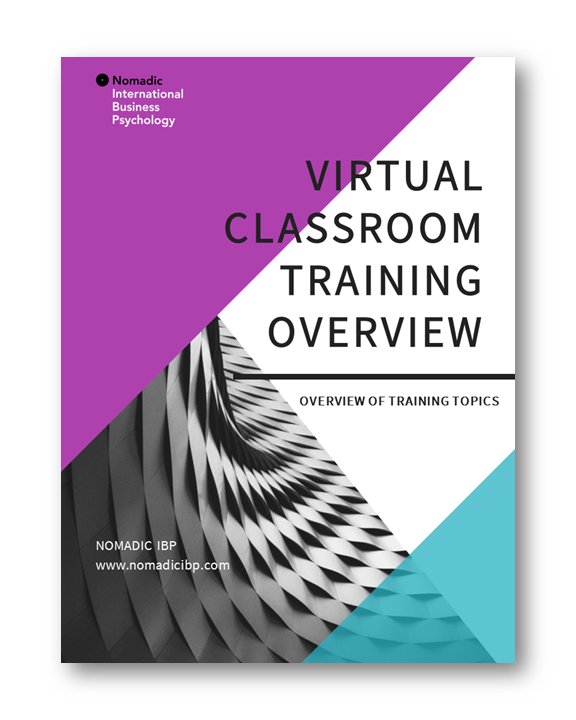 Virtual Classroom Training | Nomadic IBP