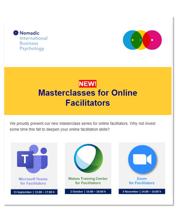 Newsletter_Masterclasses