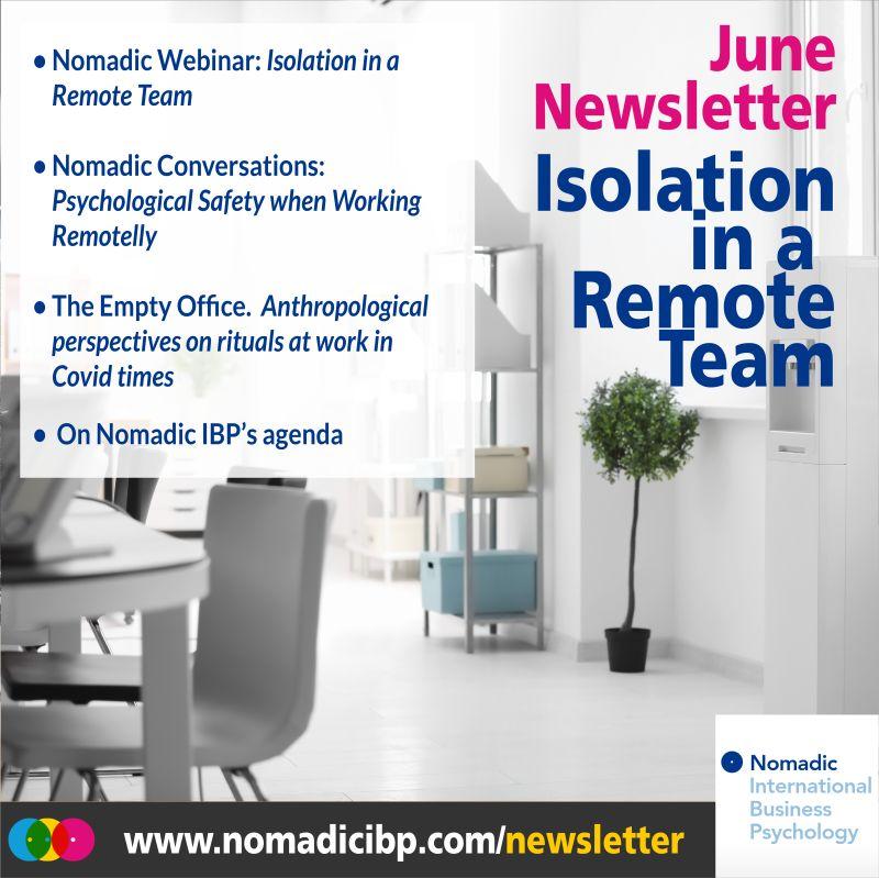 June Newsletter | Nomadic IBP